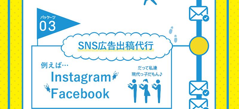 パッケージ03 SNS広告出稿代行